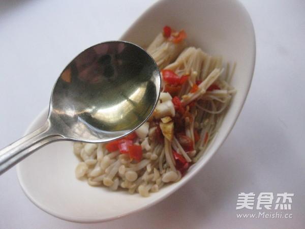 剁椒金针菇怎么煮