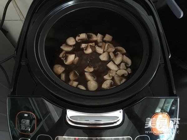 蘑菇牛肉拌饭怎样做