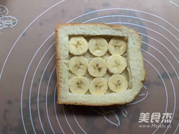 棉花糖香蕉烤吐司的家常做法
