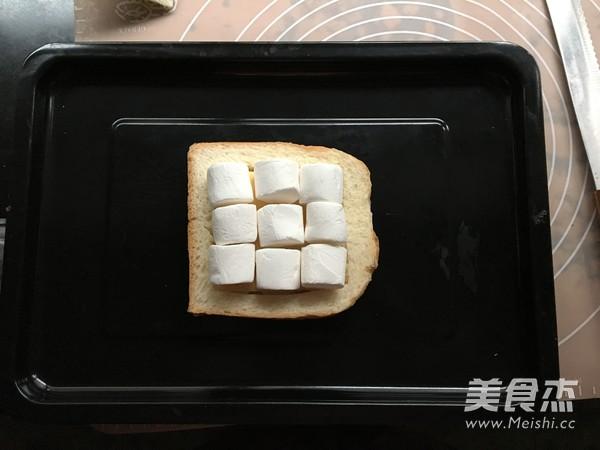 棉花糖香蕉烤吐司怎么吃