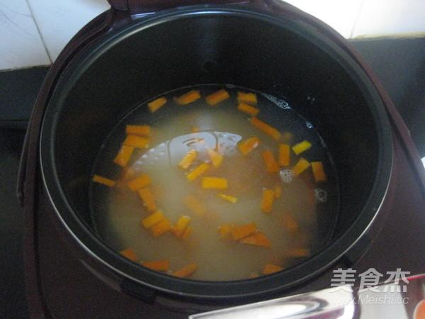 南瓜小米粥的简单做法