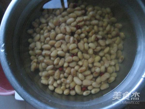 养颜红枣豆浆的做法图解