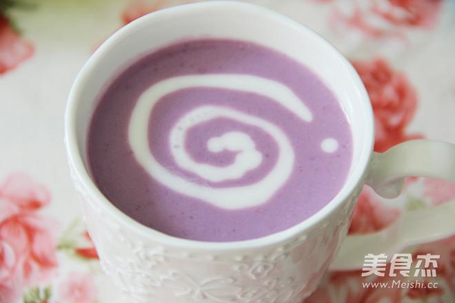 紫薯奶昔怎样煸