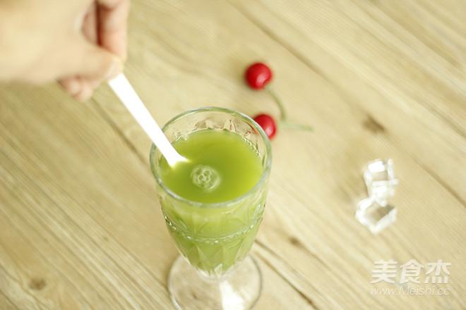 鲜榨黄瓜雪梨汁怎样做