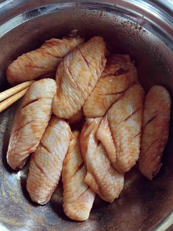 浓香烤鸡中翅(烤箱版)的家常做法