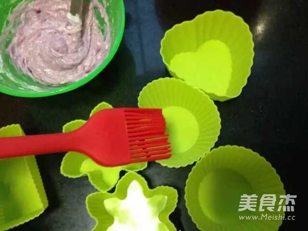 双色紫薯发糕的简单做法