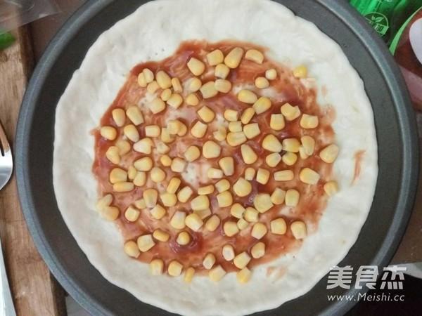 火腿披萨的简单做法
