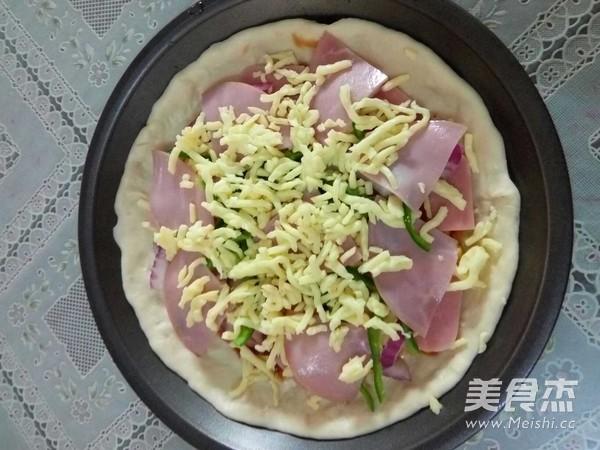 火腿披萨怎么做