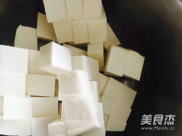 香椿芽拌豆腐的简单做法
