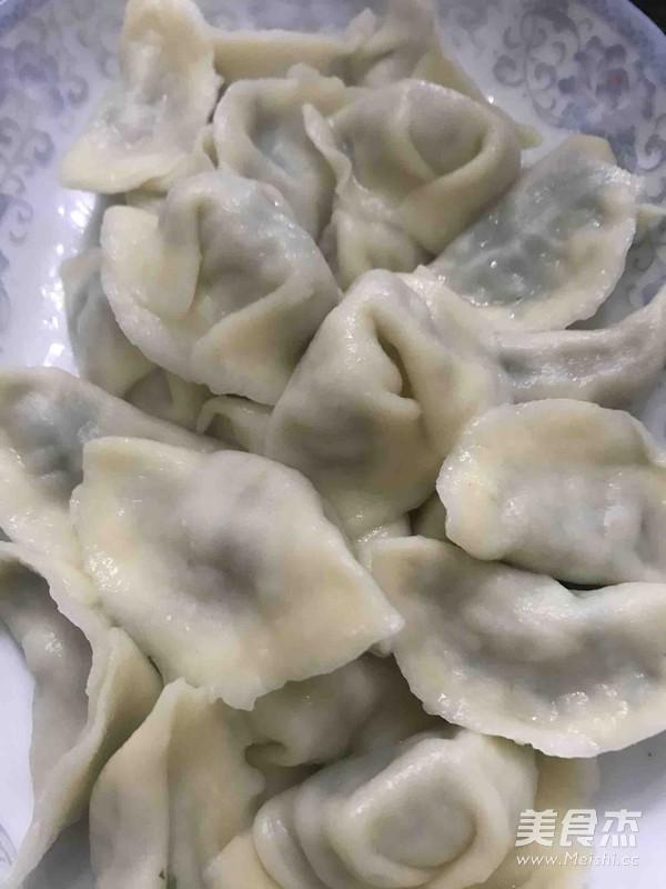 荠菜饺子怎样做