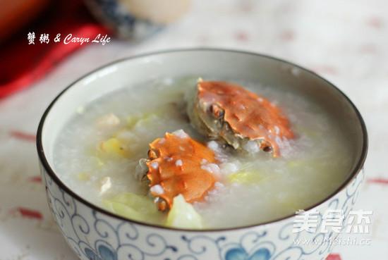 鲜美蟹粥怎么炒