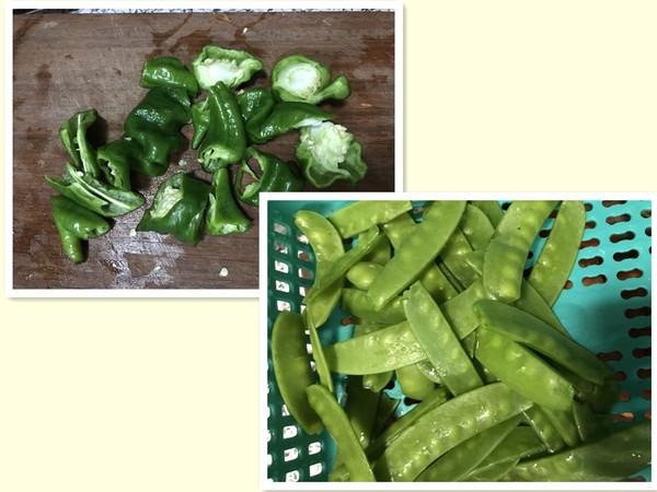 香肠胡萝卜豌豆荚砂锅饭的家常做法