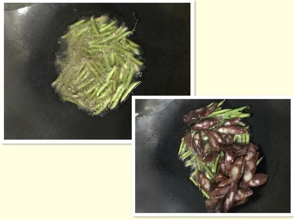 香肠胡萝卜豌豆荚砂锅饭怎么做