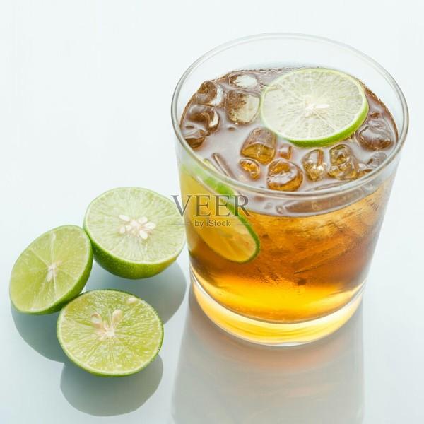 蜂蜜柠檬茶成品图
