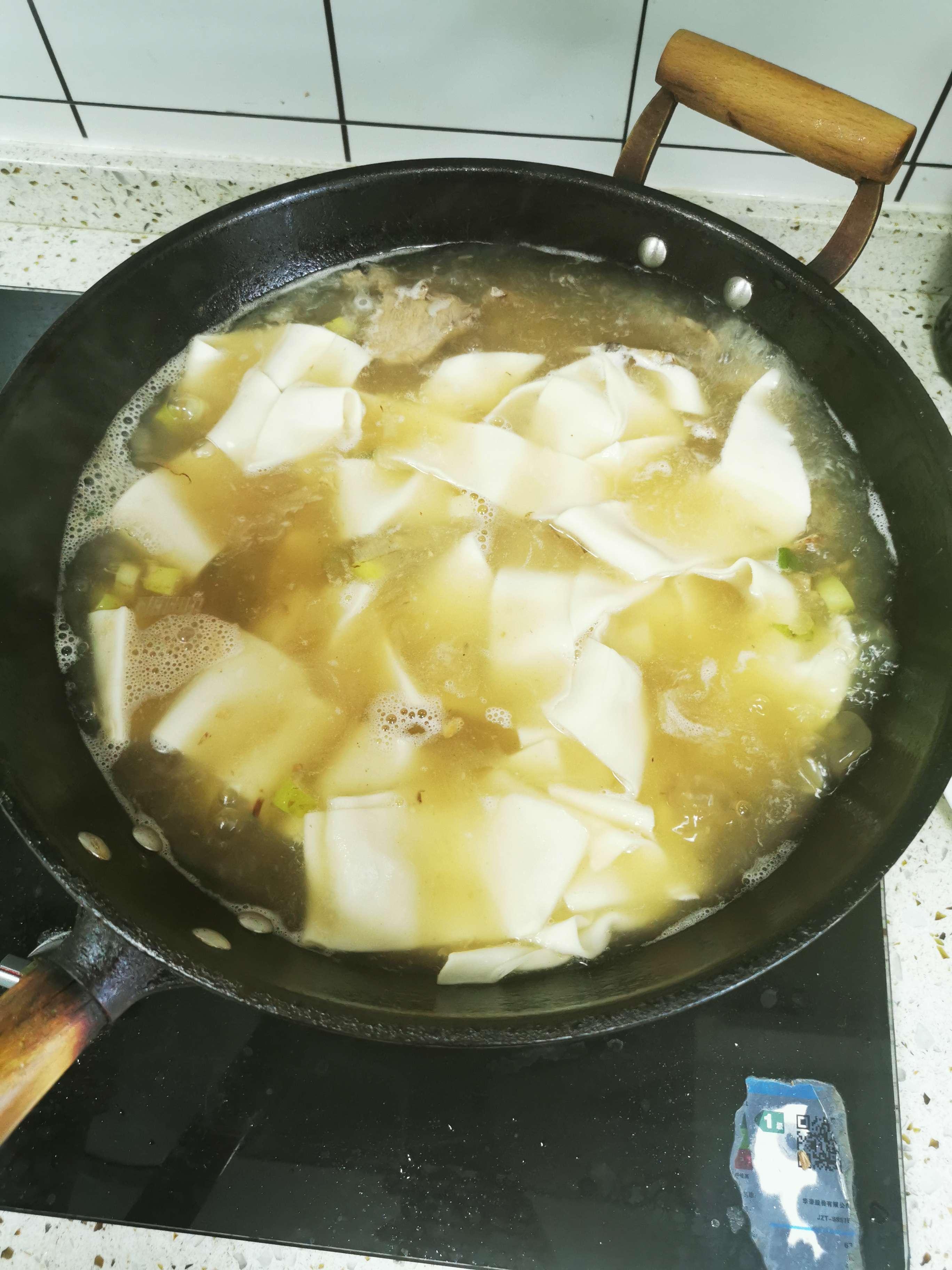 北方炝锅面条的简单做法