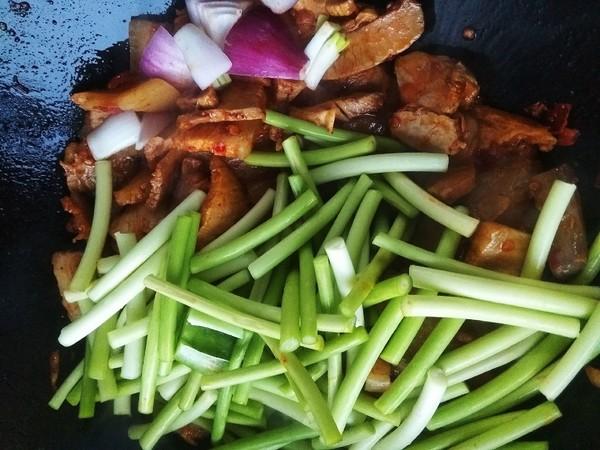 蒜苔回锅肉怎么煮