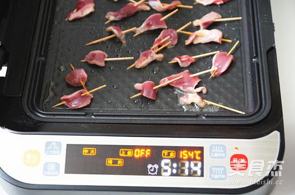 孜然烤鸡胗片怎么做