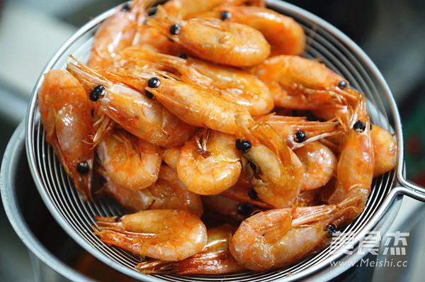 罗勒椒盐北极虾的家常做法