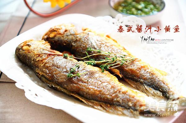 泰式酱汁小黄鱼成品图