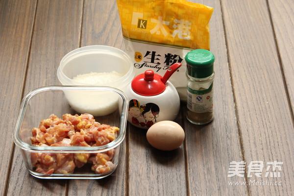 自制KFC的鸡米花的家常做法