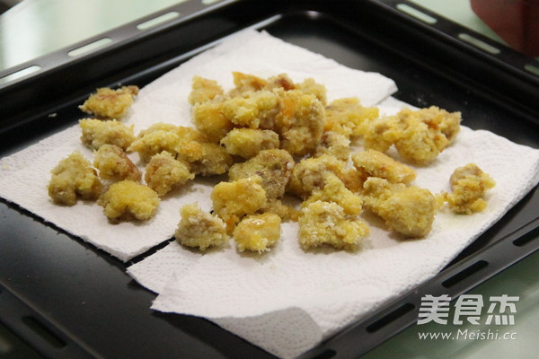 自制KFC的鸡米花怎么炒