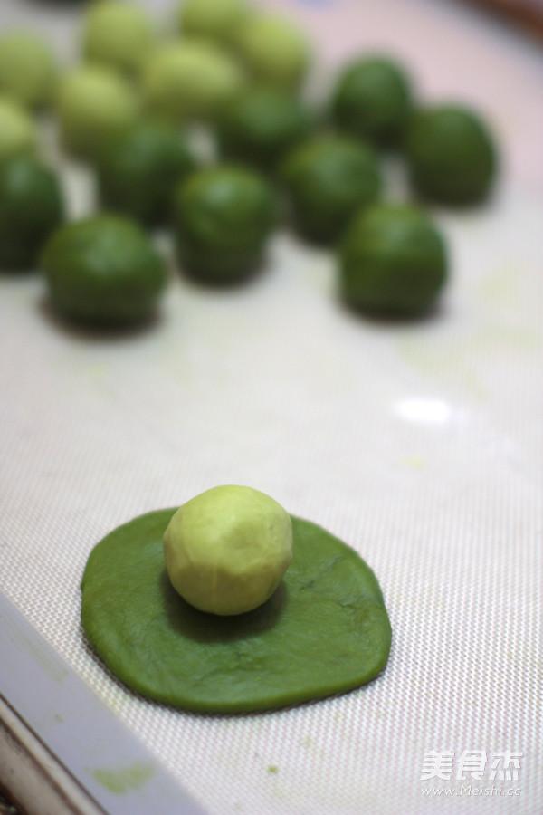 抹茶蛋黄酥的简单做法