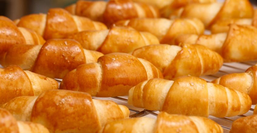 日式盐面包的制作