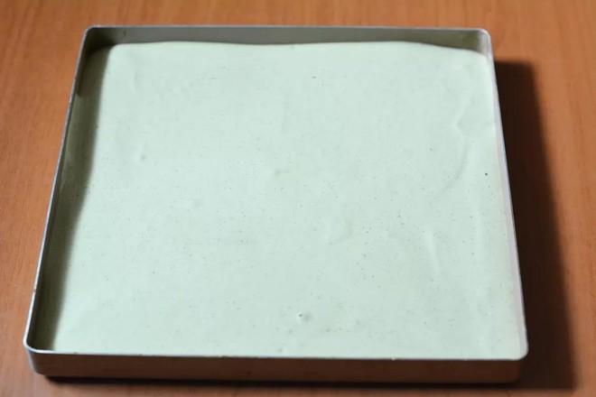 抹茶芒果盒子蛋糕怎么炒