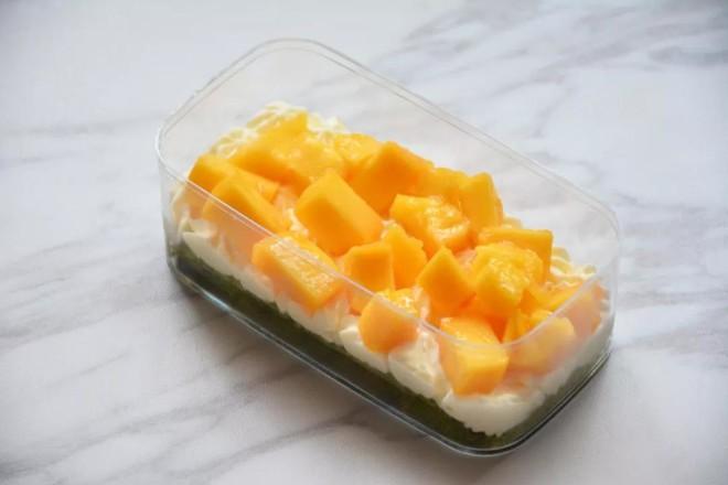 抹茶芒果盒子蛋糕怎样做