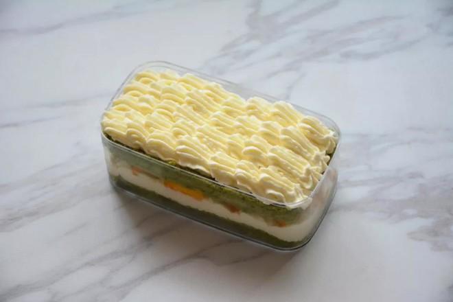 抹茶芒果盒子蛋糕怎样炒