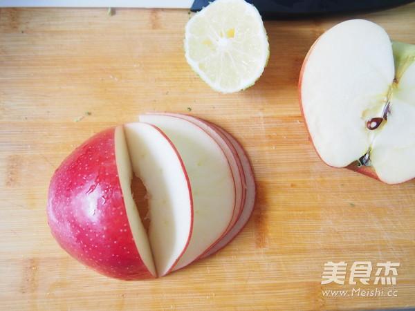 苹果玫瑰卷的步骤
