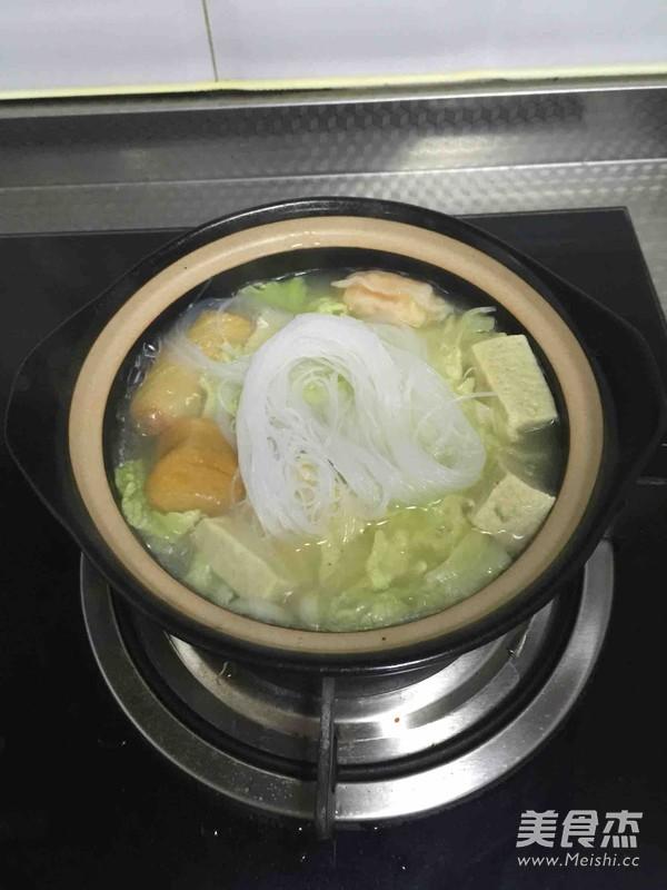 砂锅白菜冻豆腐怎么做
