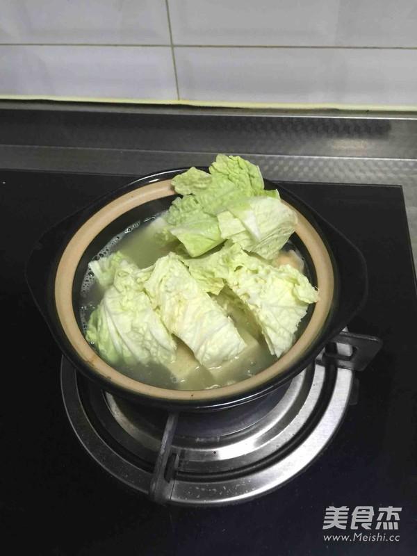 砂锅白菜冻豆腐怎么吃