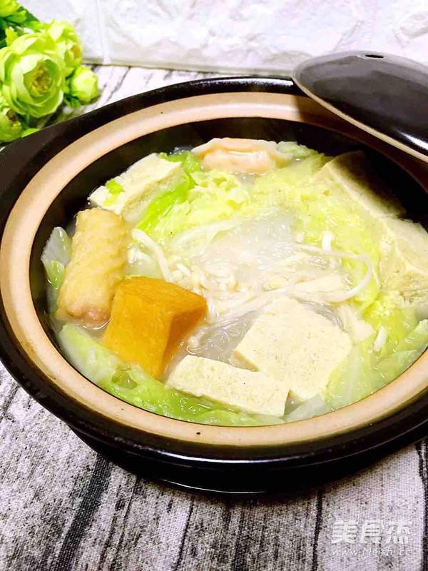 砂锅白菜冻豆腐怎么煮