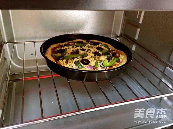 8寸蔬菜披萨怎样做