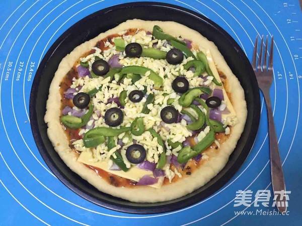 8寸蔬菜披萨怎样煸