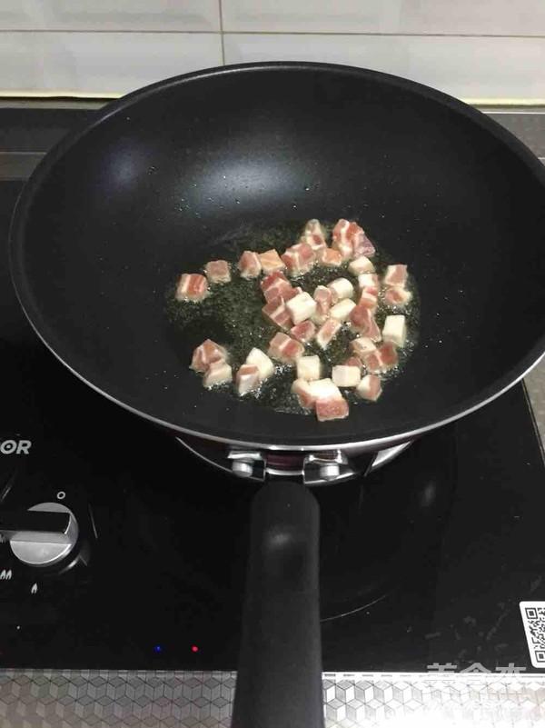 肉丁炸酱的做法图解