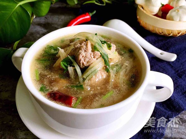 羊肉丸汤怎样做
