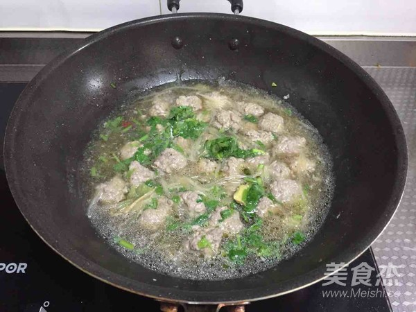 羊肉丸汤怎样煸