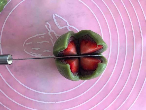 抹茶草莓大福怎么炒