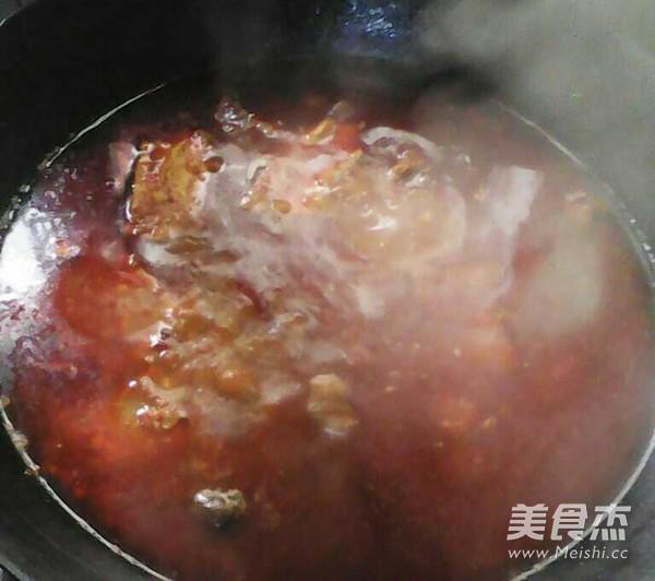 鱼+羊鲜味火锅怎么煮