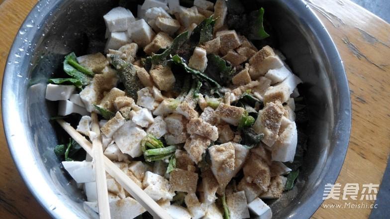 菠菜豆腐馅饼的家常做法