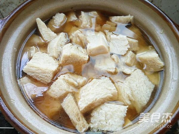 砂锅炖冻豆腐怎么炒