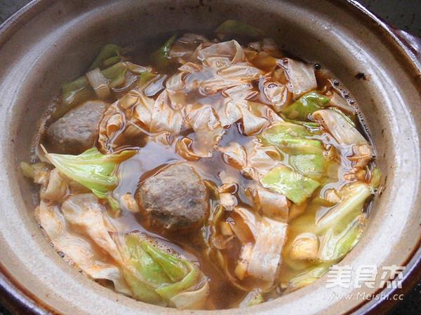 砂锅粉丝怎么炒