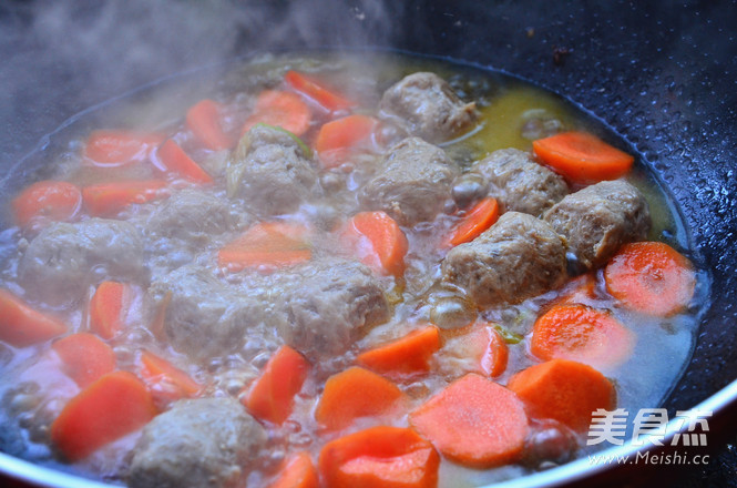 咖喱牛肉丸的简单做法