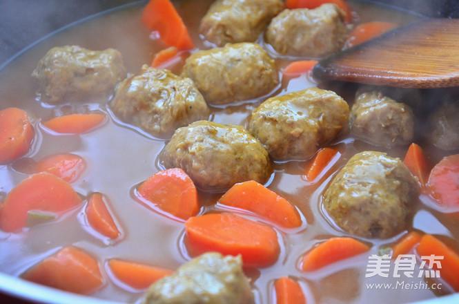 咖喱牛肉丸怎么做