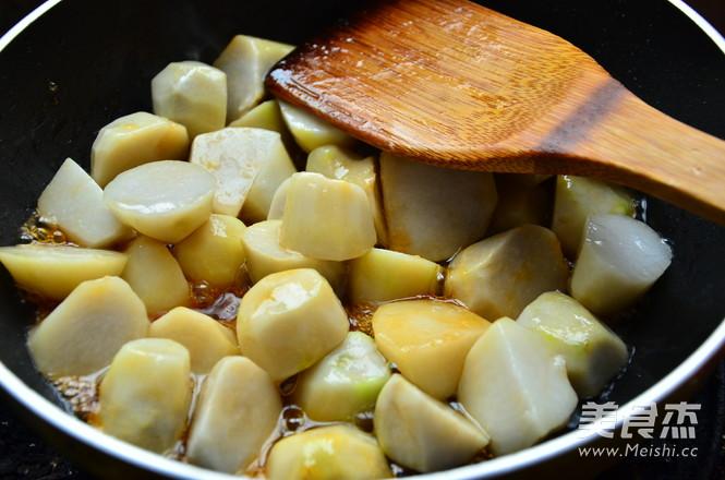 红烧芋头的简单做法