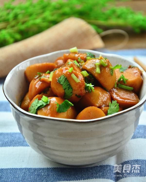 红烧芋头的做法图片