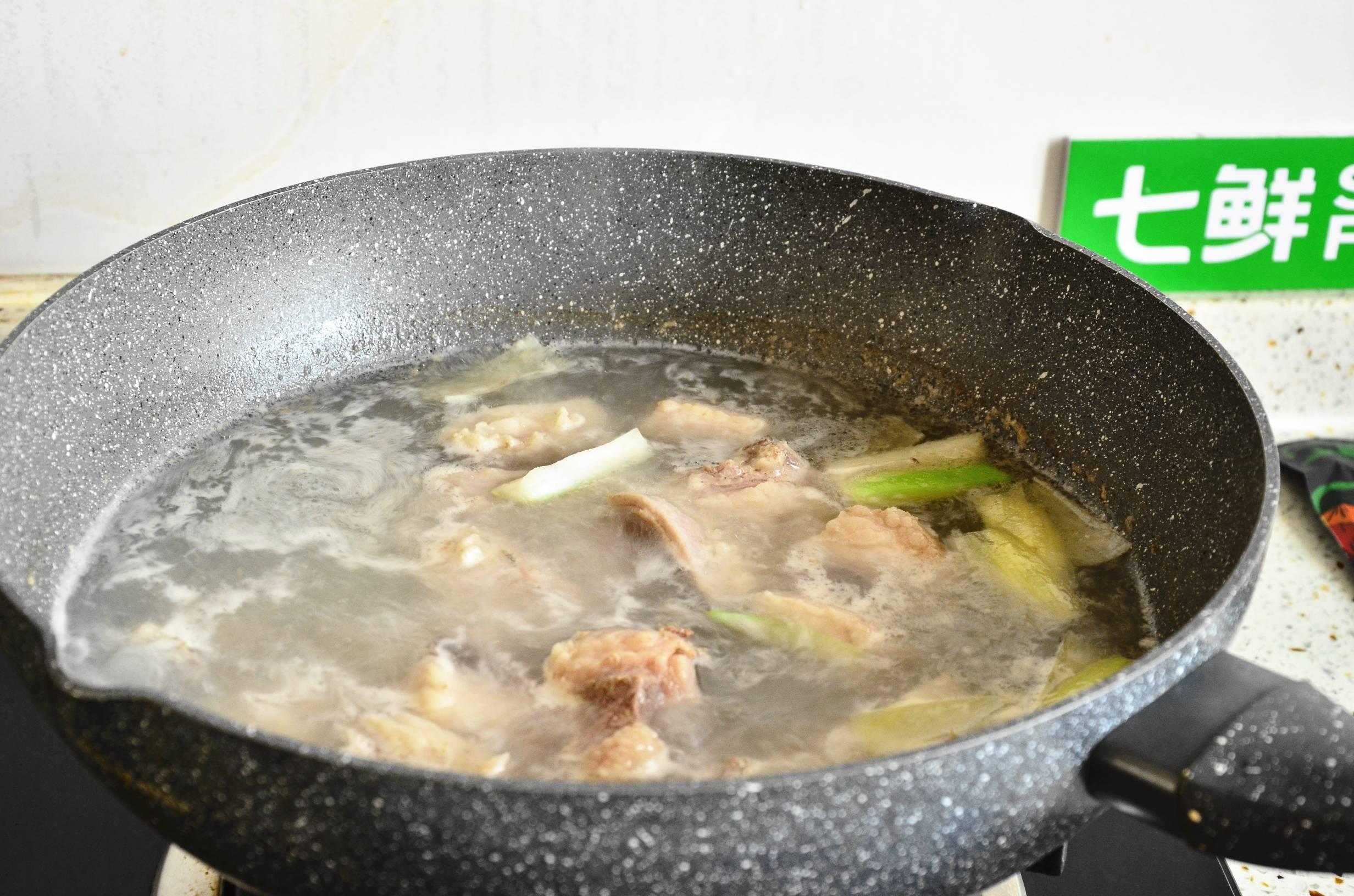 羊排山药汤的简单做法