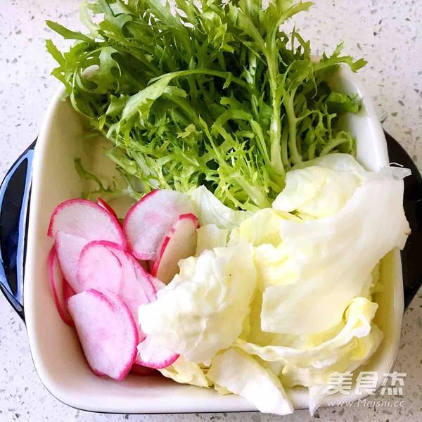 三蔬沙拉怎么做